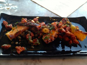 Chorizo and Octopus - AMAZING