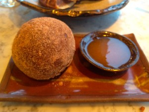 Spicy Ox Cheek Doughnut- So So