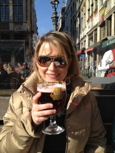 Beer in the Grand Place